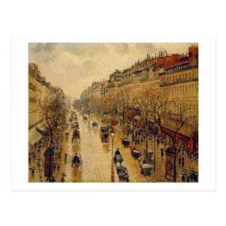 Cartes impressionnistes de beaux-arts de Camille