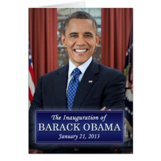 Cartes Inauguration 2013 de Barack Obama
