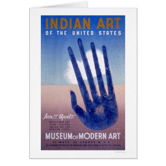 Cartes Indien d'art moderne de musée WPA 1938