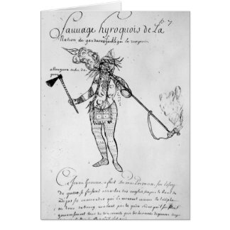 Cartes Indien Iroquois du Canada