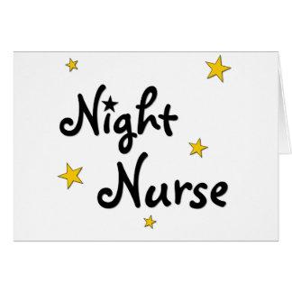 Cartes Infirmière de nuit