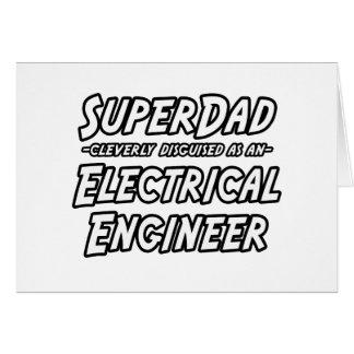 Cartes Ingénieur électrique de SuperDad…