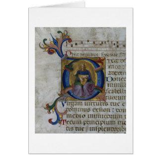 """Cartes Initiale """"D"""" de Mme 531 f.169v Historiated"""