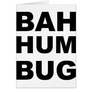 Cartes Insecte de bourdonnement de Bah