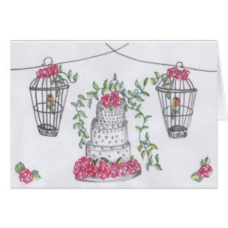 Cartes Inséparables et un gâteau