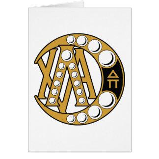 Cartes Insigne d'alpha de Chi de lambda