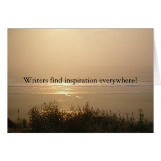 Cartes Inspiration d'auteur