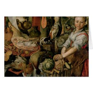 Cartes Intérieur de cuisine, 1566