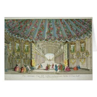 Cartes Intérieur d'une galerie menant à Vauxhall des