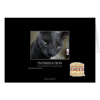 Cartes Intimidation