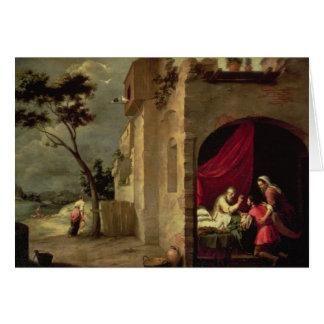 Cartes Isaac bénissant Jacob