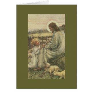 Cartes j-2 Jésus avec l'enfant