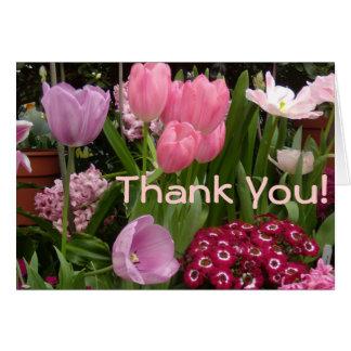 Cartes Jacinthes de tulipes de marguerites