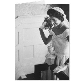 Cartes Jackie Kennedy, 1953