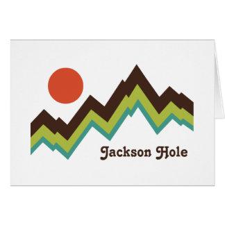 Cartes Jackson Hole vintage