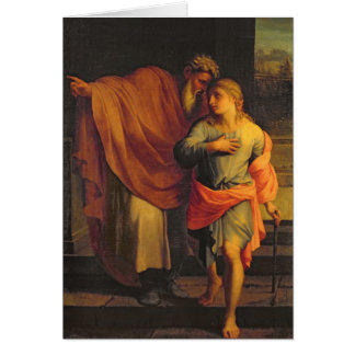 Cartes Jacob envoyant son fils, Joseph