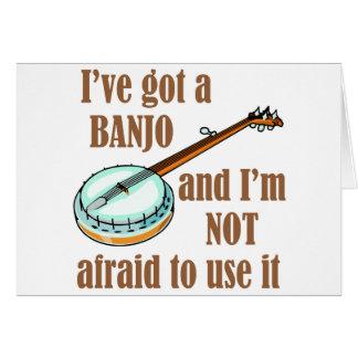 Cartes J'ai un banjo