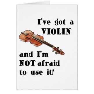 Cartes J'ai un violon