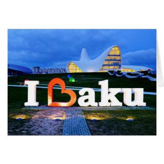 Cartes J'aime Bakou