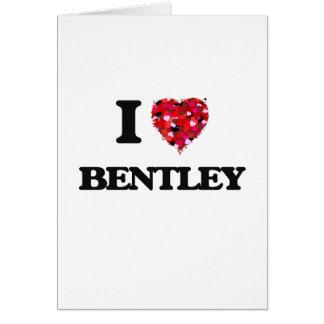 Cartes J'aime Bentley