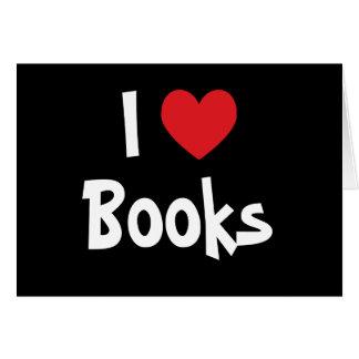Cartes J'aime des livres