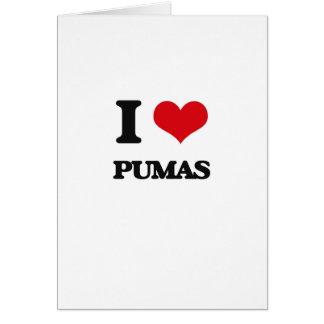 Cartes J'aime des Pumas