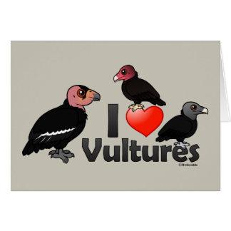 Cartes J'aime des vautours (Amérique du Nord)
