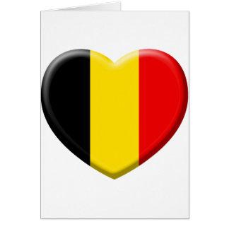 Cartes j'aime la Belgique