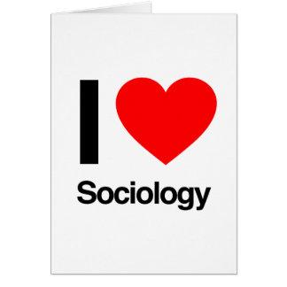 Cartes j'aime la sociologie