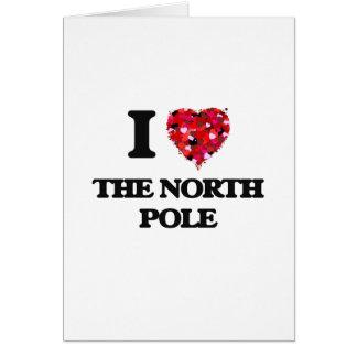 Cartes J'aime le Pôle Nord