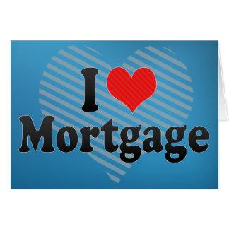 Cartes J'aime l'hypothèque