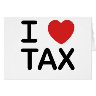 Cartes J'aime l'impôt