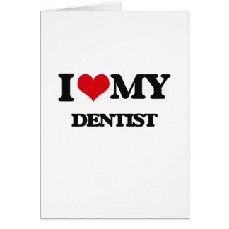 Cartes J'aime mon dentiste