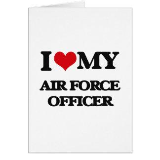 Cartes J'aime mon dirigeant d'Armée de l'Air