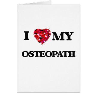 Cartes J'aime mon ostéopathe