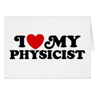 Cartes J'aime mon physicien