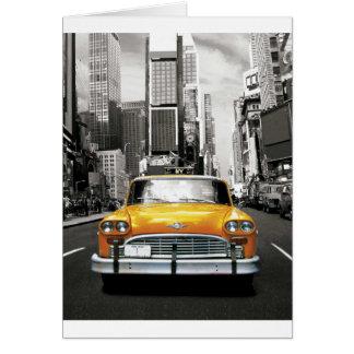 Cartes J'aime NYC - taxi de New York