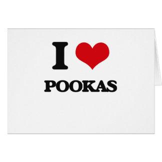 Cartes J'aime Pookas
