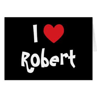 Cartes J'aime Robert