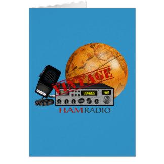 Cartes Jambon vintage (radio)