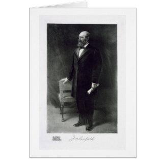 Cartes James Abram Garfield, 20ème président du St uni