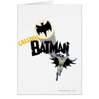 Cartes J'appelle le graphique de Batman