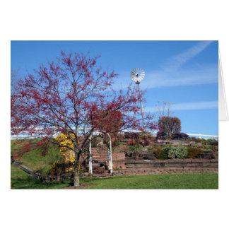 Cartes Jardin amish d'automne