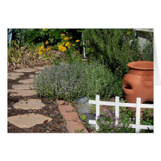 Cartes Jardin de herbes aromatiques