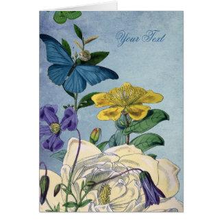 Cartes Jardin de papillon