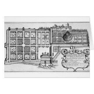 Cartes Jardin du duc grand de la Toscane sur le Trinita