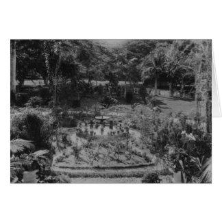 Cartes Jardin d'une villa suburbaine
