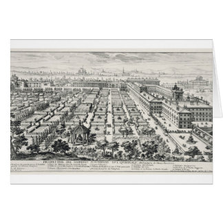 Cartes Jardins du Quirinale, de 'Li Giardini di Rom