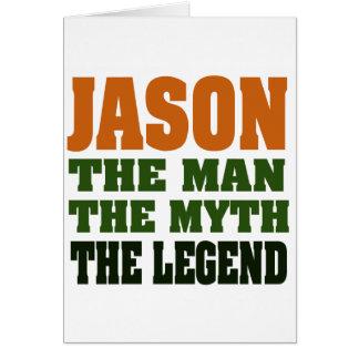 Cartes Jason - l'homme, le mythe, la légende !
