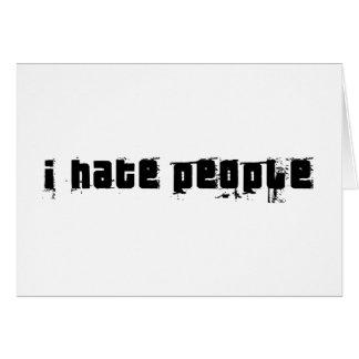 Cartes Je déteste des personnes